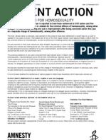 Hombre sentenciado por homosexualidad en Arabia Saudita