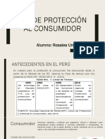 Ley de proteccion al consumidor
