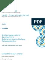 Building an Apache Hadoop Data Application Presentation