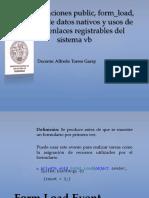 Tema for Load,Registro Datos, Uso de Menus