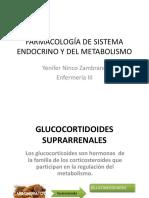 Farmacología de Sistema Endocrino y Del Metabolismo