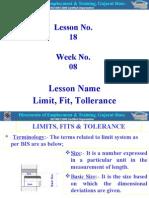 18-Limit, Fit, Tolerance