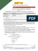ESB 08 01 Circuit Correlation Check