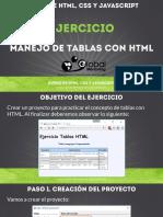 CHTML B Ejercicio TablasHTML