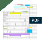 Slab design Excel sheet