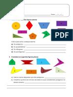 Polígonos. Notações e Classificações - Ficha de Trabalho (1)