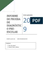 Educativa- Informe Del Niño - Fabiana y Nicole