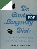 Dr.Cantor's Longevity Diet