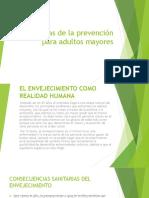 Estrategias de La Prevención Para Adultos Mayores