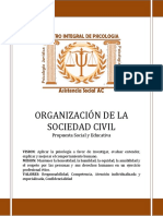 OBJETOS SOCIAL DE CENTRO INTEGRAL DE PSICOLOGIA
