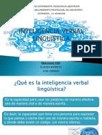 Inteligencia verbal linguistica