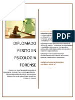 TEMARIO DIPLOMADO EN PSICOLOGIA FORENSE