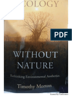 Ecology Without Nature. Chapters 1&2. TimothyMorton