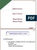 Álgebra Linear-Vetores