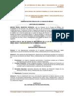 Reglamento de La Ley de Los Derechos de Ninas Ninos y Adolescentes de La Ciudad de Mexico