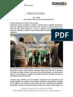 04-11-19 Clausuran con éxito Feria del Libro de Hermosillo 2019