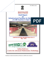 Draft Report on Infrastructural Facilities for Maintenance of LHB Coaches in Open Line