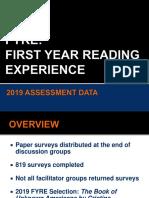 2019 evaluation summary
