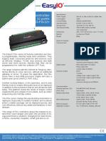 Datasheet Easyio Fg 32