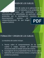 FORMACION DE SUELOS