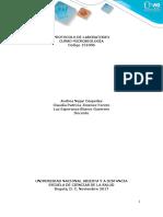Protocolo de Práctica Para Laboratorio Presencial Del Curso de Microbiología