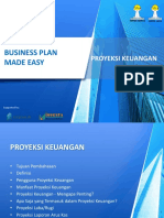 3. Proyeksi Keuangan