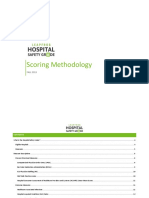 Hospital Safety Grade Scoring Methodology Fall 2019