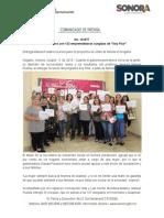 """11-10-19 Cuenta Sonora con 132 emprendedoras surgidas de """"Soy Pilar"""""""