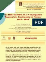 Fuentes de La No Convergencia en Mexico, Presentacion