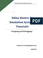 Xilinx Kintex7 Emulation System Tutorial v1