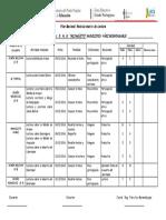 Formato Plan Revolucionario de Lectura Diciembre 2016