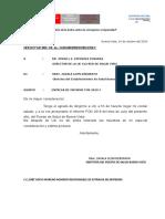 Oficio de Donacion Aniversario de Buenavista 2018