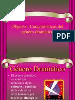Genero Dramatico 8vo 1era Clase