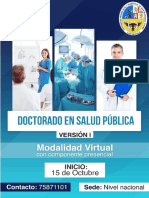 Doctorado en Salud Publica Chuquisaca