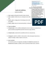 Analisis y Resolución de Conflictos
