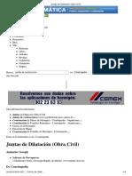 JUNTAS DE DILATACION Y CONSTRUCCION