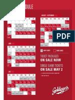 Winnipeg Goldeyes 2020 Schedule