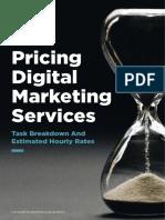Social Media Marketing Agency Pricing