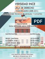 TRABAJO de EXPOCISION Derecho Inmobiliario