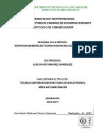 Diseño de Un Sistema de Camaras de Seguridad Mediante Protocolo de Comunicación Ip