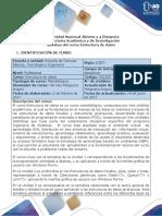 Syllabus Del Curso Estructura de Datos