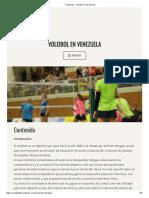 Contenido – Voleibol en Venezuela
