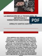 La Innovación de La Tecnología, Su Importancia