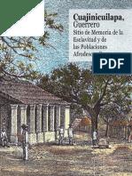 Cuajinicuilapa. Sitio de Memoria y esclavitud