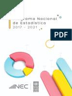 Programa Nacional de Estadistica-2017