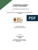 Final Term Paper Pms b60