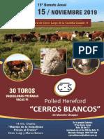 Catálogo Cerros Blancos