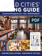 Quad Cities' Dining Guide Fall + Winter 2019/20