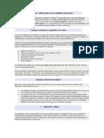Características y Diferencias de Los Depósitos Bancarios
