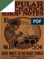 1920 Vol.16 PopularMechanicsShopNotes Ne